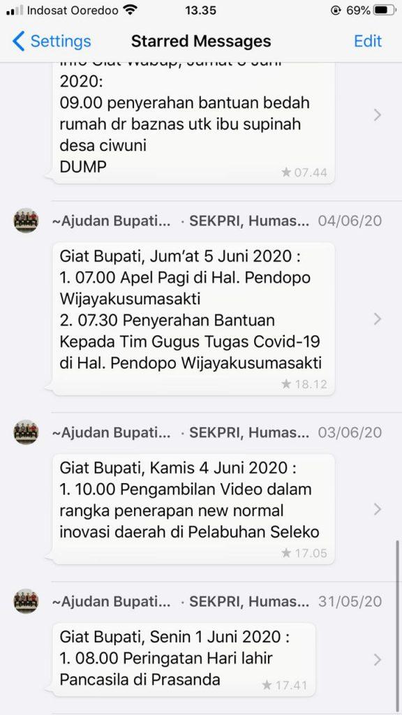 Agenda Badan Publik 9