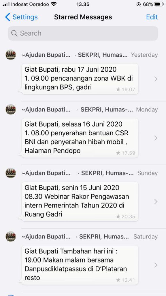 Agenda Badan Publik 12