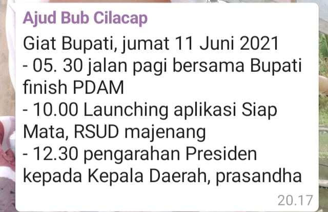 Agenda Badan Publik 2021 5